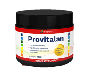 Provitalan - France - composition - site officiel