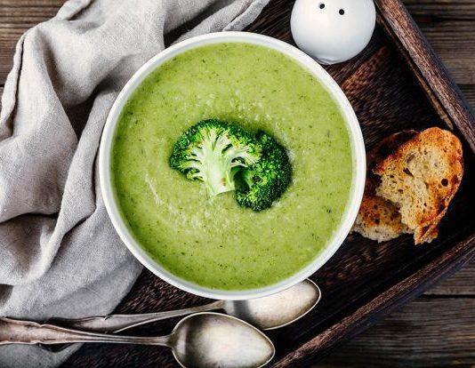 Crème de soupe-un moyen sain et efficace de perdre du poids